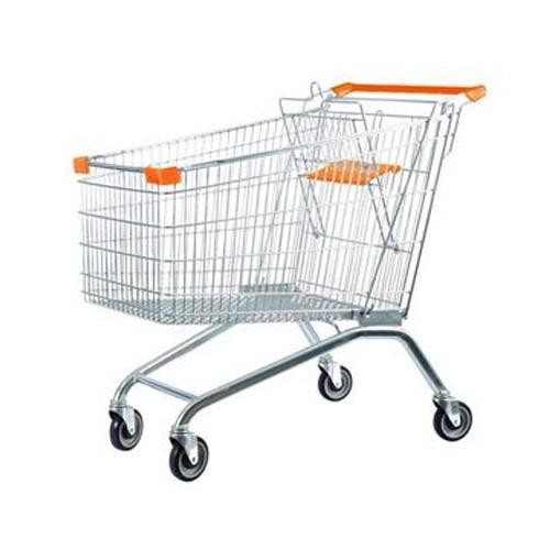 چرخ خرید فروشگاهی فلزی 120 لیتری