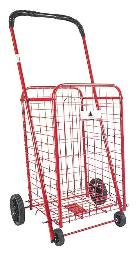 انواع سبد خرید چرخ دار فروشگاهی